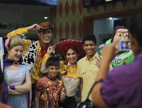 camilo ibrahim issa - Sambil Paraguaná disfrutó de los nuevos estrenos del cine
