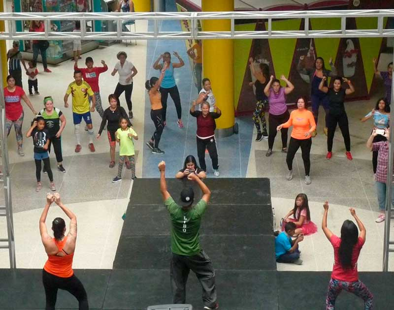 camilo ibrahim issa - Camilo Ibrahim Issa: Vacaciones fitness en el Centro Comercial Metrópolis