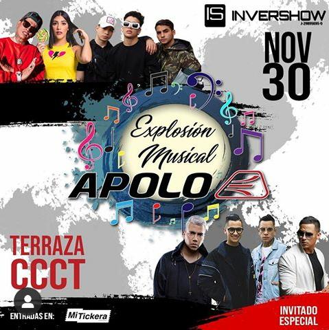 camilo ibrahim issa - Explosión Musical Apolo Shoes reunirá el talento nacional en el CCCT