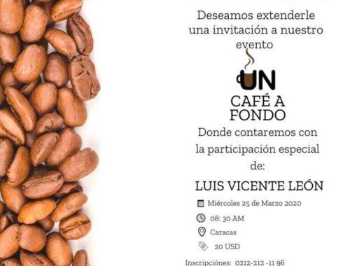 """camilo ibrahim issa - Camilo Ibrahim Issa: Cavececo invita a """"Un café a fondo"""""""