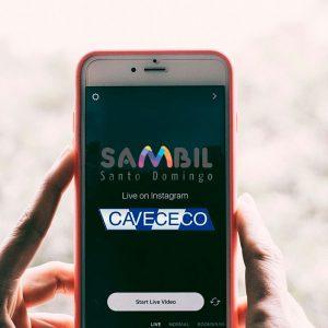 Camilo Ibrahim Issa-Cavececo tendrá un live con Sambil Santo Domingo