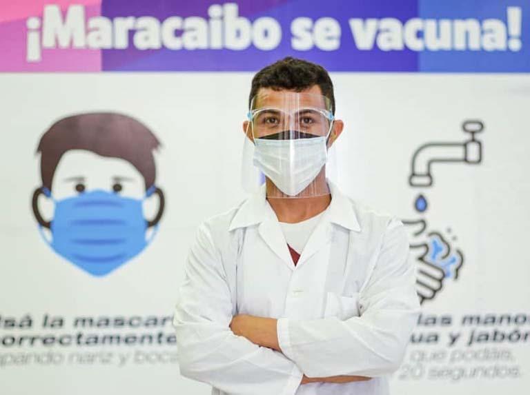 Camilo Ibrahim Issa-Sambil Maracaibo es punto de vacunación contra el Covid-19